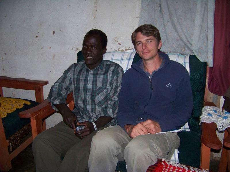 Gilbert Wimbe and Bryan Mealer
