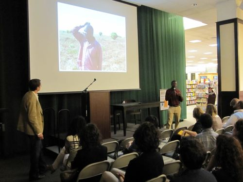 Presenting at barnes and noble tribeca