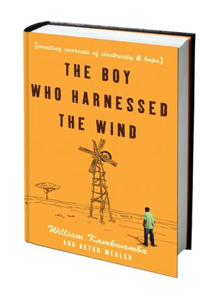 Boy who harnessed-3Dcover on white