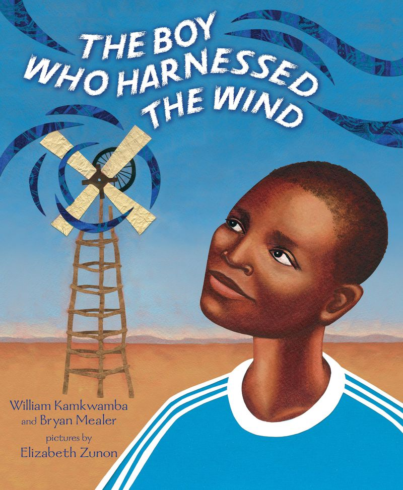 The Boy Who harnessed the Wind cover
