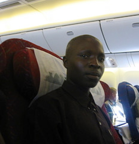 William_on_the_airplane
